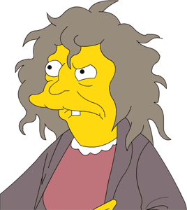 Simpsons Cat Lady